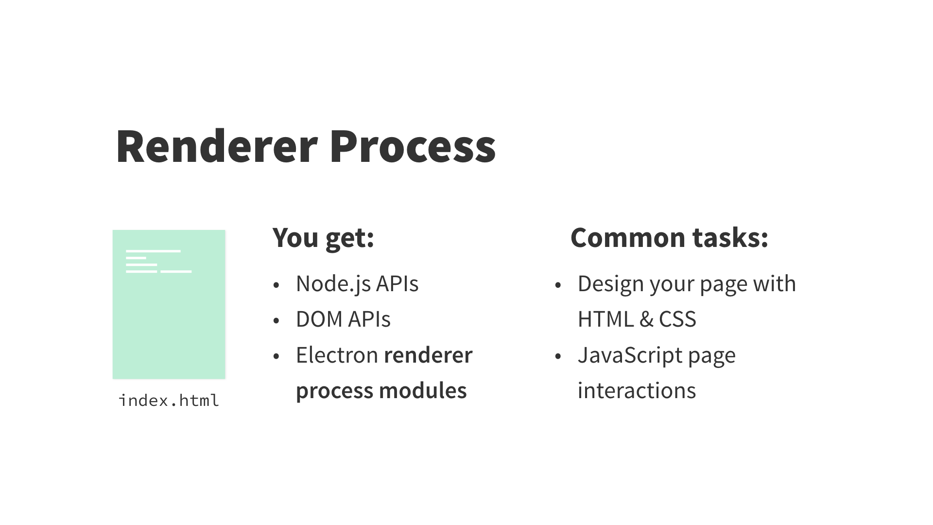 renderer process diagram